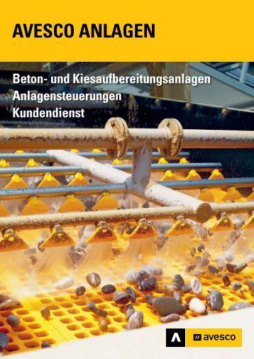 Betonmischanlagen (PDF) - Avesco AG
