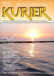 Ausgabe September 2012 - Seniorenvertretung Magdeburg
