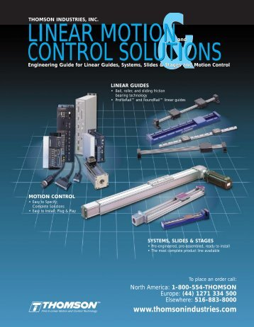 Linear Motion & Control Solutions - Stone-Stamcor