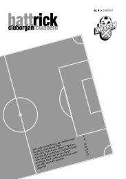 Hattrick Ausgabe 4 - Saison 2006/2007 - FC Wabern - Home