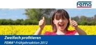 Sichern Sie sich Ihren Frühjahrs-Rabatt - FEMA Farben + Putze GmbH