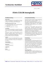 Acrobat Distiller, Job 32 - FEMA Farben + Putze GmbH