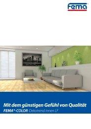 Dispersions-Innenfarbe Dekotrend - FEMA Farben + Putze GmbH