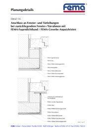 Planungsdetails - FEMA Farben + Putze GmbH
