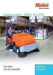 Hakomatic 1800 V/LPG - Stangl Reinigungstechnik GmbH