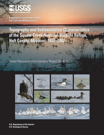 Topography and Sedimentation Characteristics of the Squaw Creek ...