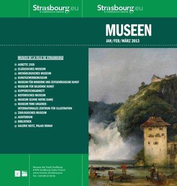 MUSEEN - Musées de Strasbourg