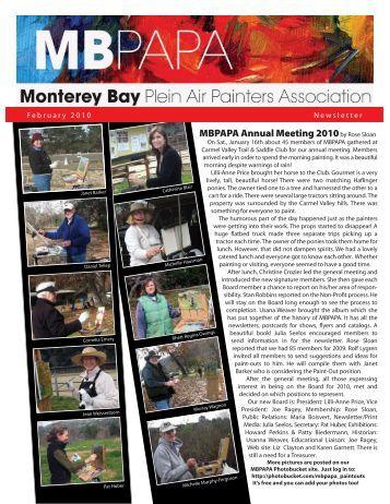 MBPAPA Annual Meeting 2010by Rose Sloan - Monterey Bay Plein ...