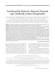 Faciobrachial dystonic seizures precede Lgi1 antibody limbic ...