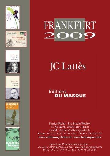 Bon spring 2006 - Éditions JC Lattès