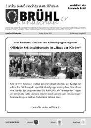 Bruehl gesamt kw 26 - Gemeinde Brühl