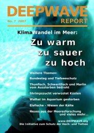 Der Klimawandel - von Deepwave eV