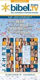 J A H R E - bibelfernsehen.de