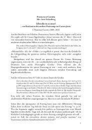 Francesco Carotta Liberalia tu accusas! - carotta.de