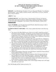 Board of Education Minutes 12-15-10 - Garrison Union Free School
