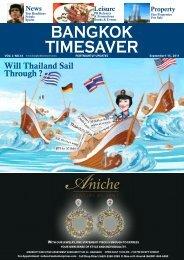 Will Thailand Sail Through ? - Bangkok TimeSaver