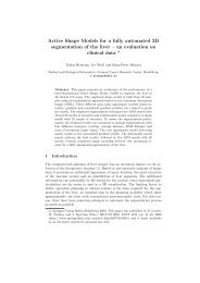 Active Shape Models for a fully automated 3D segmentation of the ...