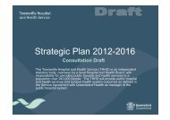 Consultation Draft - Queensland Health - Queensland Government