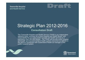 Consultation Draft - Queensland Health - Queensland Government