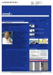 Trend Online - Waldviertler Roggenhof
