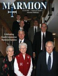 January Magazine.indd - Marmion Academy