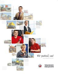 Geschäftsbericht 2010 - Wacker Neuson