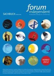 2012 SACHBUCH VORSCHAU - forum independent