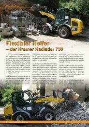 Flexibler Helfer Flexibler Helfer - Maschinen Technik