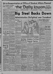 April 14 - The Daily Iowan Historic Newspapers - University of Iowa