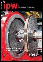 DirecTory SupplierS to the paper and pulp industry - IPW ...