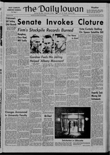 d - The Daily Iowan Historic Newspapers - University of Iowa