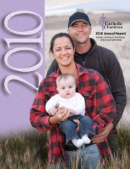 Full 2010 Annual Report (PDF) - Catholic Charities
