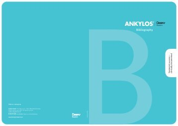 ANKYLOS Bibliography (PDF 0,50MB) - DENTSPLY Friadent