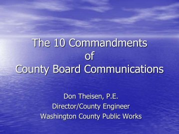 Theisen - Ten Commandments Track 3 4-20-11