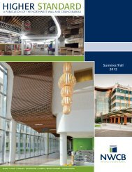 2012 Outstanding Project of the Yea - Northwest Wall and Ceiling ...