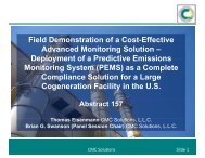 Field Demonstration of a Cost-Effective Advanced Monitoring