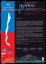 IO A IPRAS - International Confederation for Plastic, Reconstructive ...