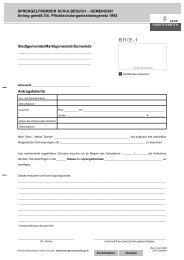 Formular BH/E-1: Sprengelfremder ... - Land Oberösterreich
