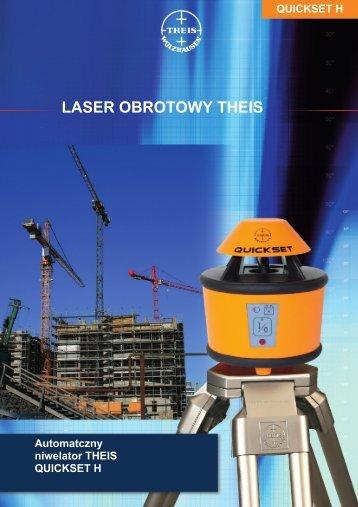 LASER OBROTOWY THEIS - Niwelator laserowy