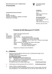 Protokoll der BA-Sitzung am 27.10.2010 - Ackermannbogen