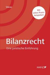 Bilanzrecht Eine juristische Einführung