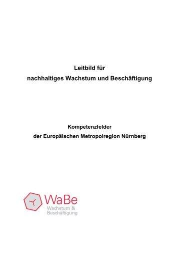 Leitbild für nachhaltiges Wachstum und ... - Stadt Nürnberg