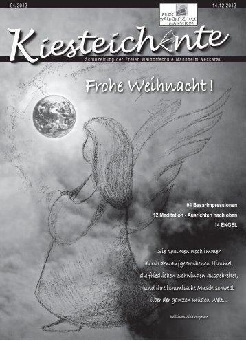 Kiesteichente Dezember 2012 - Freie Waldorfschule Mannheim