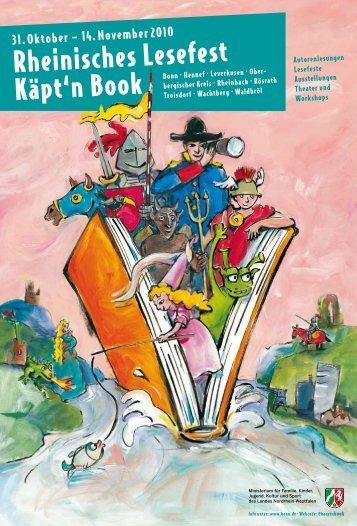 Programmheft 2010 - PDF download - Käpt'n Book Lesefest