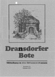 39/1998 - Ortsausschuss Bonn-Dransdorf