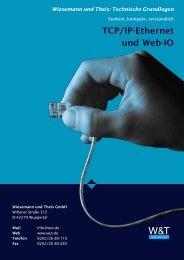 TCP/IP-Ethernet und Web-IO - wimberger.ch