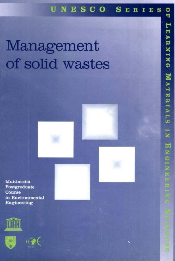 Management of solid wastes: multimedia ... - unesdoc - Unesco