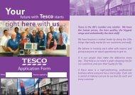 Tesco-jobs-application-form