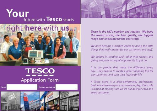 Tesco-jobs-application-form Play Job Application Form on employee benefits form, cv form, job vacancy, job requirements, agreement form, job openings, contact form, job applications you can print, job advertisement, job resume, job search, cover letter form, job applications online, job payment receipt, job letter, job opportunity,