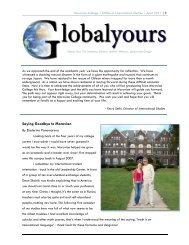 Saying Goodbye to Moravian - Moravian College